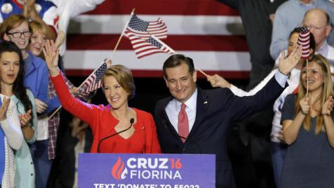 la-pol-ted-cruz-carly-fiorina-20160427