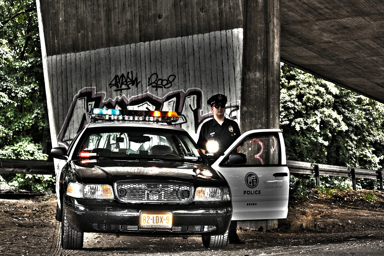 Cop Police Police Car Club Siren Image Editing